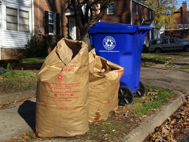 Trash bag: Recycled Paper bag